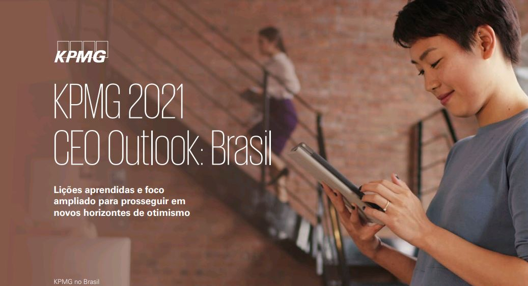 Tendências corporativas com base no KPMG 2021 CEO Outlook: Brasil